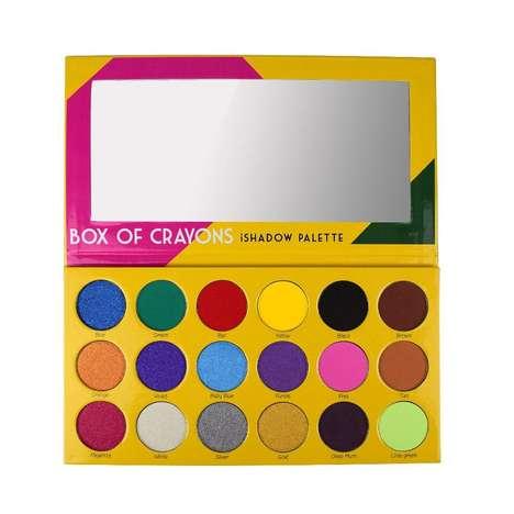 Crayon-Inspired Eyeshadow Palettes