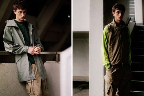Muted Japanese Menswear Collections