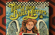 TV-Inspired Comic Book Covers - These Covers Show the Netflix Original Black Mirror in a New Medium