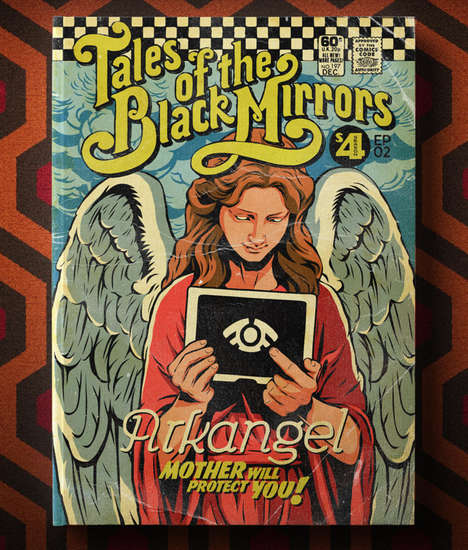 TV-Inspired Comic Book Covers
