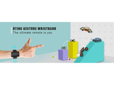 Gesture-Responsive Robotic Toys