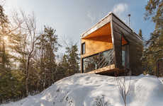 Mountain-Side Modern Cabins