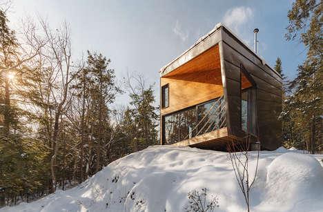 Mountain-Side Modern Cabins