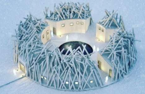 Floating Frozen Hotels