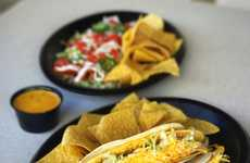 Cheesy Macaroni-Stuffed Tacos - Tijuana Flats is Serving Up New Limited-Edition Mac & Queso Dishes