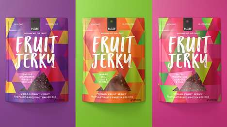 Sweet Fruit Jerky Snacks - 'Nothing But the Fruit' Makes Plant-Based Jerky from Vibrant Ingredients