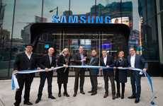 Experiential Technology Stores - Samsung's Largest Canadian Store is Open at CF Toronto Eaton Centre