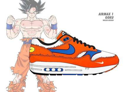 Anime Fan Sneaker Concepts
