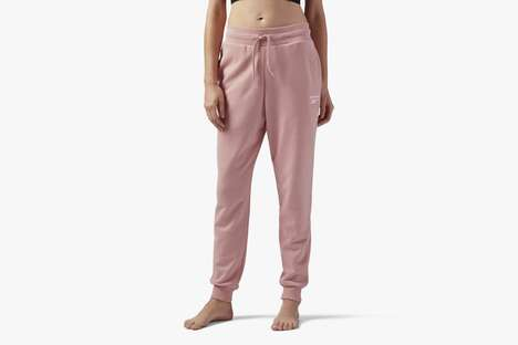 Comfortable Pastel Pink Joggers