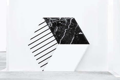 Marble-Detailed Geometric Mirrors