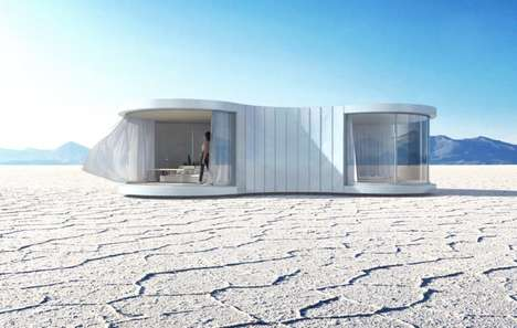 Organically Shaped Prefab Homes