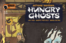 Food-Centric Comics - Anthony Bourdain's 'Hungry Ghosts' is a Four-Part Comic Book Series