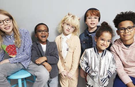 Stylish Kid-Centric Eyewear Programs
