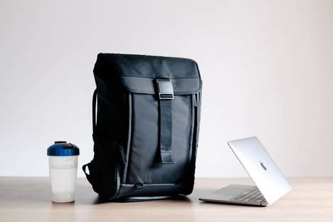 Sleek Multi-Functional Backpacks