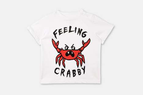 Summer-Themed Baby Shirts - Stella McCartney Created a Collection of Adorable T-Shirts for Babies
