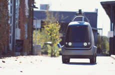 Autonomous Delivery Cars - Nuro's Self-Driving Delivery Vehicle Only Transports Goods, Not Humans