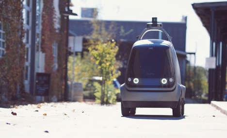 Autonomous Delivery Cars