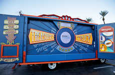 Carnivalesque Retail Pop-Ups - Amazon's 'Treasure Trucks' are Parking at Whole Foods Locations