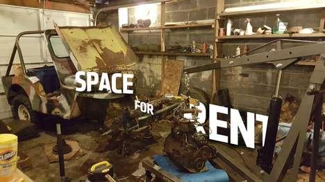 Peer-to-Peer Garage Rentals