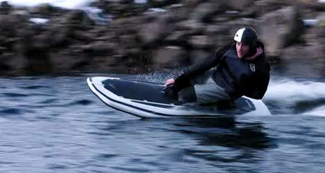 Whisper-Quiet Electric Wakeboards