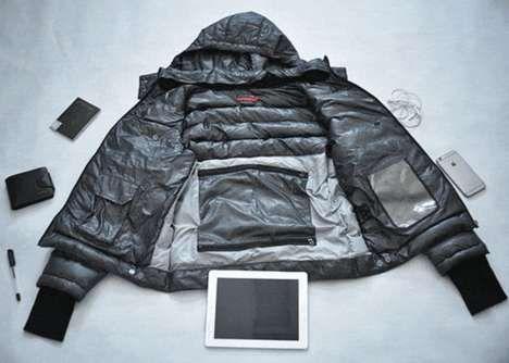Tech-Accommodating Winter Jackets