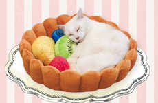Dessert-Inspired Pet Beds