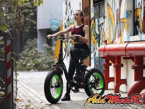 Stabilized Tire Electric Bikes