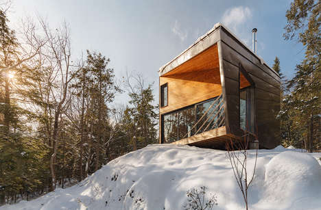 Top 100 Architecture Trends in February - From Panoramic Birding Huts to Super-Tall Office Towers