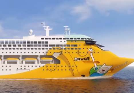 Family-Friendly Cartoon Cruises