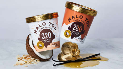 Artisanal Non-Dairy Frozen Desserts - The New Halo Top Ice Creams Feature Fan-Favorite Flavors