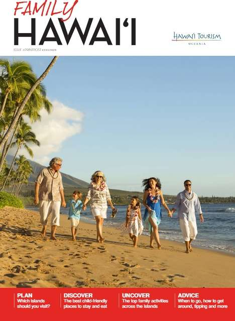 Family-Friendly Travel Flipbooks - The Family Hawai'i Guide Helps Parents Get the Most Out of Trips
