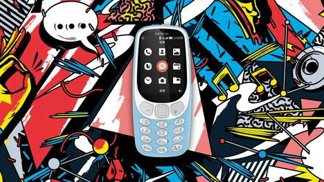 Affordable 4G Phones - The New 'Nokia 3310' Hopes to Bring Modern Tech to Rural Chinese Areas