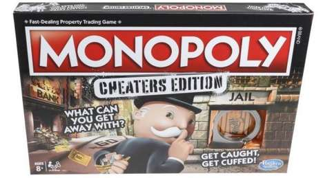 Cheating-Sanctioning Board Games - Hasbro Will Release a Monopoly Cheaters Edition This Autumn
