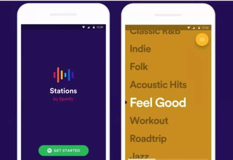 Playlist Streaming Experiments - Stations by Spotify is a Free Music Streaming App for Playlists