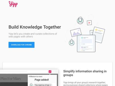 Research-Grouping Apps - Yipp is a Productivity Software Startup and Social Bookmarking App