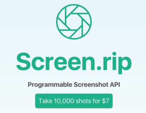 Screenshotting Developer Tools - Screen.rip is Developer API to Take Tons of Website Screenshots