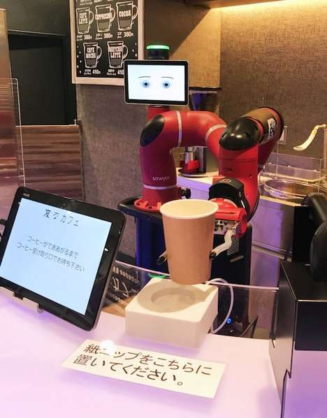 Robotic Cafe Baristas