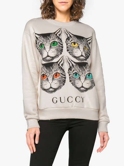 Luxurious Over-Sized Cat Sweaters
