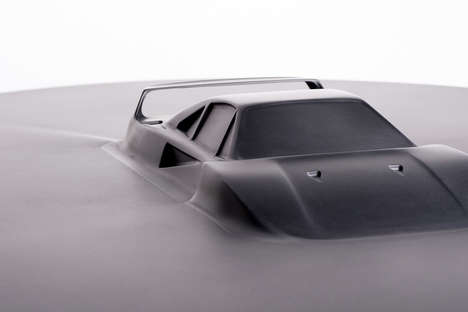 Discommon's 'Automotive Icons Table' Incorporates Supercars