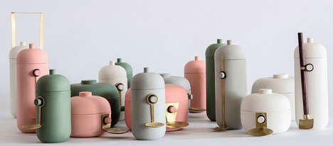 Natascha Madeiski's Containers are Colorful and Fun