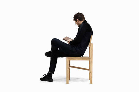 Body-Conforming Wooden Chairs