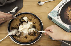 Deep-Dish Cookie Desserts - Trader Joe's Deep Dish Chocolate Chip Cookie Affordably Serves 10