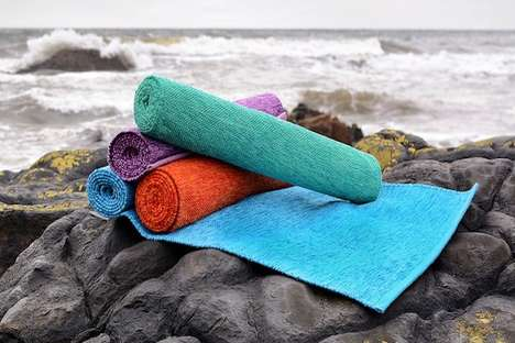 Eco-Friendly Yoga Mats - The 'YOGISPUN' Cotton Yoga Mats are Crafted by Expert Artisans