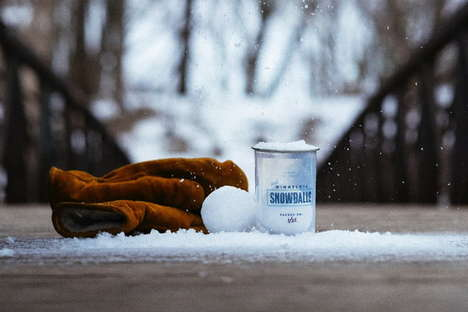 Snowball Vending Machines - Minnesota is Treating Super Bowl Fans to Snowballs
