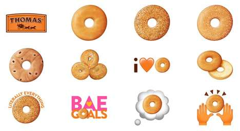 Breakfast-Themed Emojis