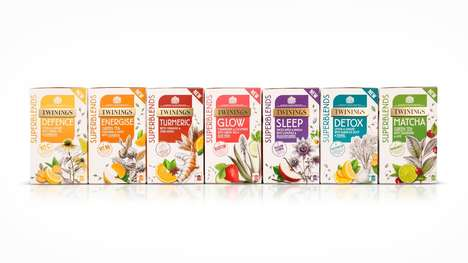 Enriched Functional Teas