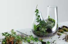 Customized Home Terrariums - Tom Dixon's PLANT Collection Combines Craftsmanship and Freedom of Form