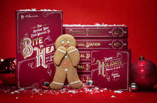 Comical Gingerbread Gifts - This Festive Gingerbread Gift Box is a Playful Present for Clients