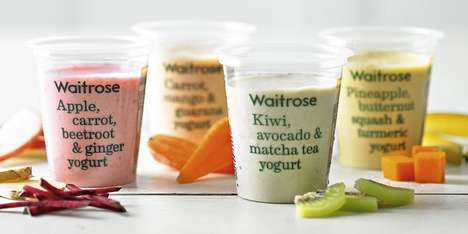 Smoothie-Inspired Yogurts