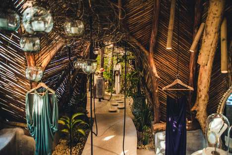 Naturally-Inspired Artistic Boutiques - Zak Ik Boasts a Wonderful, Natural and Immersive Environment